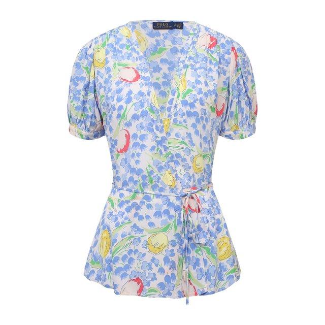 Блузка из вискозы Polo Ralph Lauren