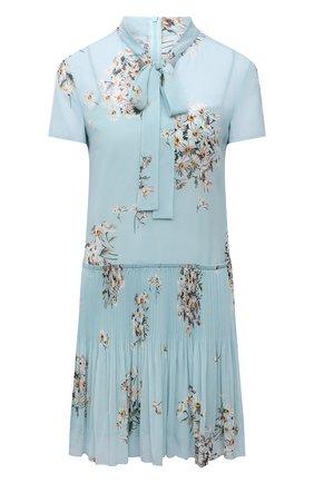 Женское платье REDVALENTINO голубого цвета, арт. VR0VAAB0/5SC   Фото 1