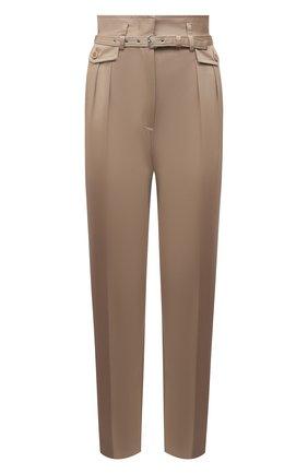 Женские хлопковые брюки REDVALENTINO бежевого цвета, арт. VR0RBE25/4YN | Фото 1