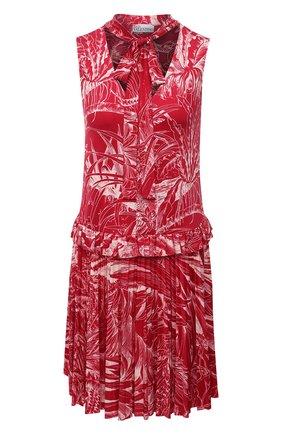 Женское платье REDVALENTINO фуксия цвета, арт. VR0MJ07C/5WJ | Фото 1