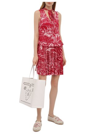 Женское платье REDVALENTINO фуксия цвета, арт. VR0MJ07C/5WJ | Фото 2