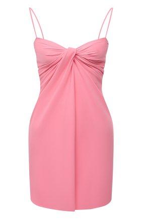 Женское платье VALENTINO розового цвета, арт. VB0VAVF56B5 | Фото 1