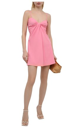 Женское платье VALENTINO розового цвета, арт. VB0VAVF56B5 | Фото 2