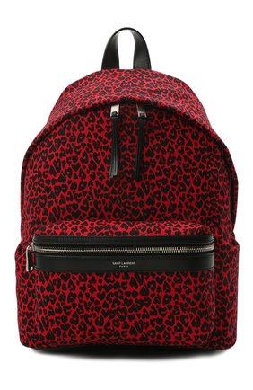 Женский рюкзак city SAINT LAURENT красного цвета, арт. 650617/20W1E | Фото 1