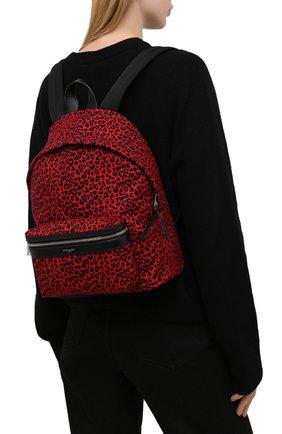 Женский рюкзак city SAINT LAURENT красного цвета, арт. 650617/20W1E | Фото 2