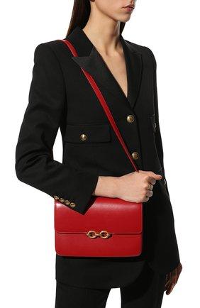 Женская сумка maillon SAINT LAURENT красного цвета, арт. 649795/2R20W   Фото 2