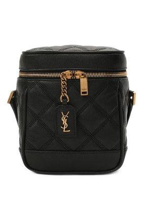 Женская сумка becky mini SAINT LAURENT черного цвета, арт. 649779/DME27   Фото 1