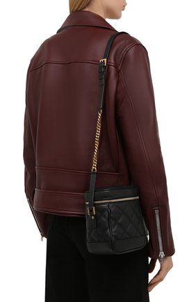 Женская сумка becky mini SAINT LAURENT черного цвета, арт. 649779/DME27   Фото 2