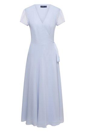 Женское платье POLO RALPH LAUREN синего цвета, арт. 211838042 | Фото 1