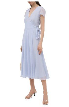 Женское платье POLO RALPH LAUREN синего цвета, арт. 211838042 | Фото 2
