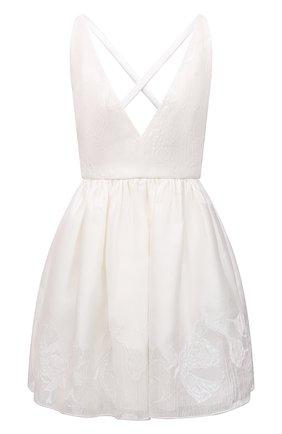 Женское платье EMPORIO ARMANI белого цвета, арт. ANA31T/A2457   Фото 1