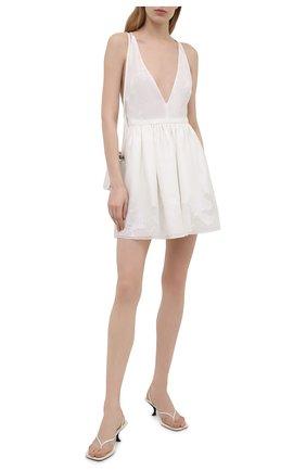 Женское платье EMPORIO ARMANI белого цвета, арт. ANA31T/A2457   Фото 2