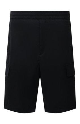 Мужские шорты NEIL BARRETT черного цвета, арт. PBPA831/Q024 | Фото 1