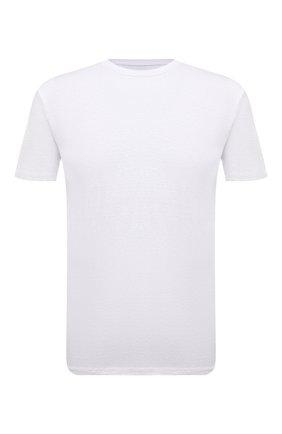 Мужская льняная футболка ALTEA белого цвета, арт. 2155219 | Фото 1