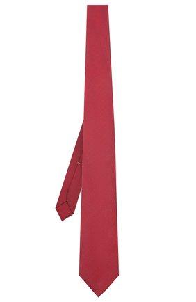Мужской шелковый галстук LUIGI BORRELLI красного цвета, арт. LC80/T9199 | Фото 2