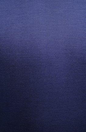 Мужской джемпер из шерсти и шелка CANALI темно-синего цвета, арт. C0719/MX01166 | Фото 5