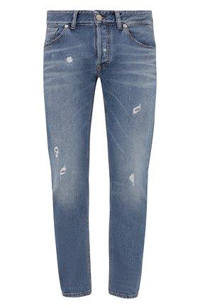Мужские джинсы PREMIUM MOOD DENIM SUPERIOR синего цвета, арт. S21 0310362430/PAUL   Фото 1