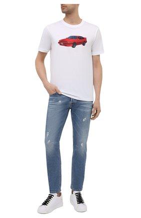Мужские джинсы PREMIUM MOOD DENIM SUPERIOR синего цвета, арт. S21 0310362430/PAUL   Фото 2