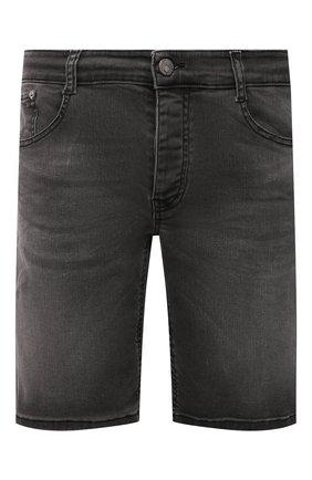 Мужские джинсовые шорты PREMIUM MOOD DENIM SUPERIOR темно-серого цвета, арт. S21 04173S625/REN/S   Фото 1