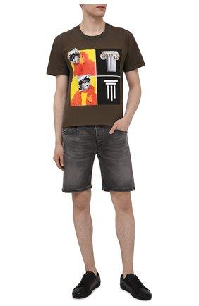 Мужские джинсовые шорты PREMIUM MOOD DENIM SUPERIOR темно-серого цвета, арт. S21 04173S625/REN/S   Фото 2