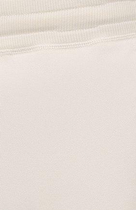 Мужские джоггеры из хлопка и шелка TOM FORD кремвого цвета, арт. BWT21/TFKTR0 | Фото 5