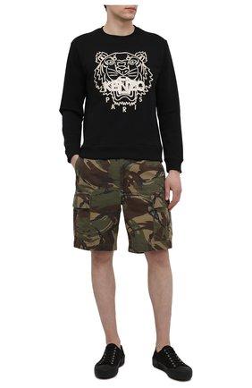 Мужские хлопковые шорты POLO RALPH LAUREN хаки цвета, арт. 710835030/006   Фото 2