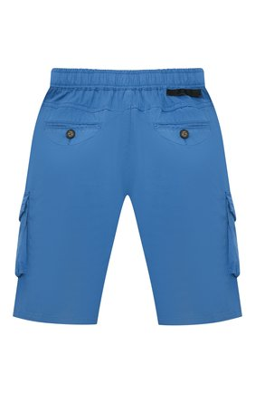 Детские хлопковые шорты STELLA MCCARTNEY синего цвета, арт. 602328/SQK01 | Фото 2
