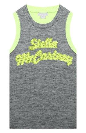 Детский топ STELLA MCCARTNEY серого цвета, арт. 602637/SQK51 | Фото 1