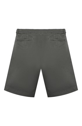 Детские хлопковые шорты BRUNELLO CUCINELLI серого цвета, арт. B289LP904A   Фото 2