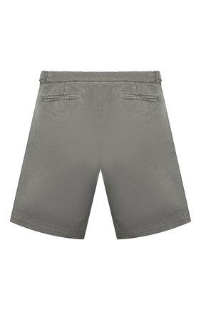 Детские хлопковые шорты BRUNELLO CUCINELLI серого цвета, арт. B289LP904B   Фото 2
