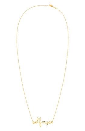 Женские колье PERSEE PARIS желтого золота цвета, арт. N7359-YG   Фото 1