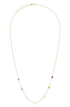 Женские колье PERSEE PARIS желтого золота цвета, арт. N7441-MU-YG   Фото 1