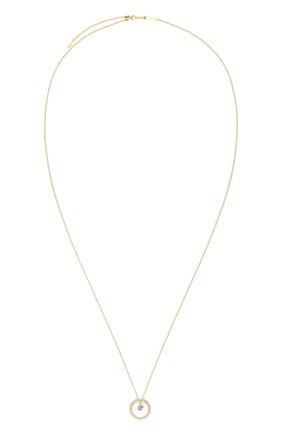 Женские колье PERSEE PARIS желтого золота цвета, арт. N7428-YG   Фото 1