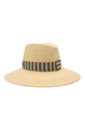 Женская соломенная шляпа MAISON MICHEL светло-бежевого цвета, арт. 1009061001/KATE | Фото 2