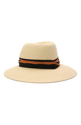 Женская соломенная шляпа MAISON MICHEL светло-бежевого цвета, арт. 1001148001/VIRGINIE | Фото 1