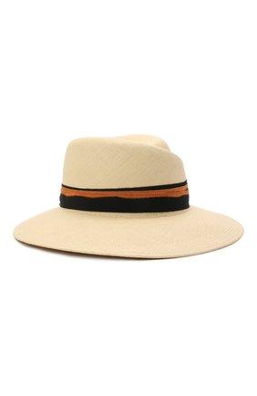 Женская соломенная шляпа MAISON MICHEL светло-бежевого цвета, арт. 1001148001/VIRGINIE | Фото 2