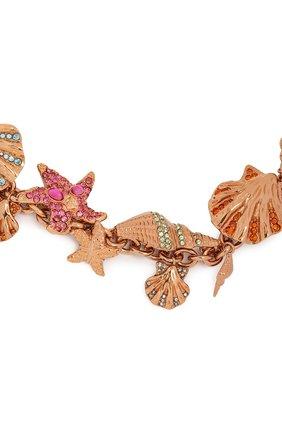 Женское колье tresor de la mer VERSACE золотого цвета, арт. DG3I107/DJMX   Фото 2