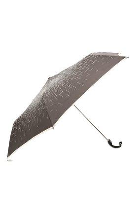 Женский складной зонт DOPPLER черно-белого цвета, арт. 722865P01 | Фото 2