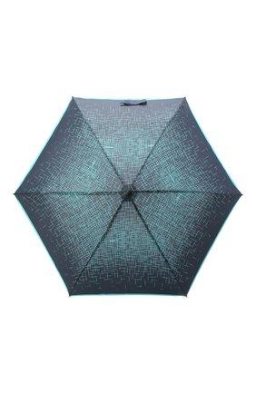 Женский складной зонт DOPPLER синего цвета, арт. 722865P03   Фото 1