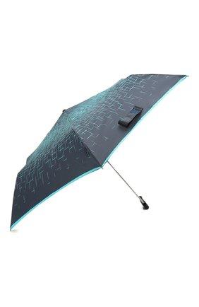 Женский складной зонт DOPPLER синего цвета, арт. 722865P03   Фото 2