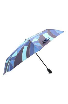 Женский складной зонт DOPPLER синего цвета, арт. 744865E02 | Фото 2