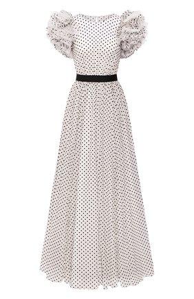 Женское платье JENNY PACKHAM черно-белого цвета, арт. GGD121L | Фото 1
