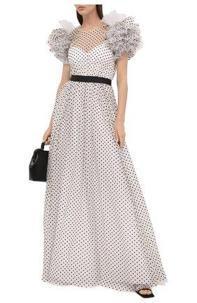 Женское платье JENNY PACKHAM черно-белого цвета, арт. GGD121L | Фото 2