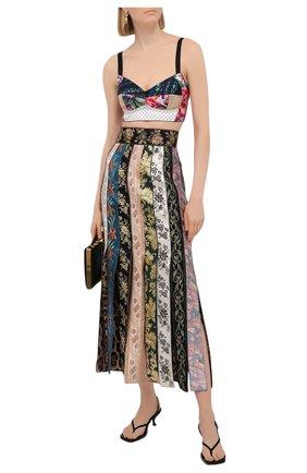 Женская юбка DOLCE & GABBANA разноцветного цвета, арт. F4B2LT/GDY53 | Фото 2