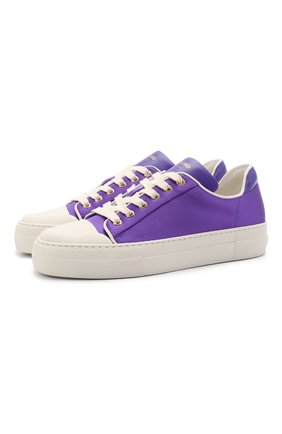 Женские текстильные кеды city TOM FORD фиолетового цвета, арт. W2878T-TSA010 | Фото 1