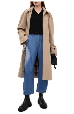 Женские джинсы Y`S синего цвета, арт. YD-P98-005   Фото 2
