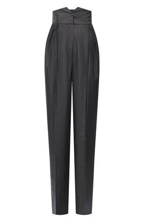 Женские брюки из шерсти и хлопка BARBARA BUI серого цвета, арт. X1620XAB | Фото 1