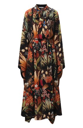 Женское шелковое платье LANVIN разноцветного цвета, арт. RW-DR0009-4900-E21   Фото 1