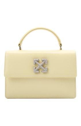 Женская сумка 1.4 jitney OFF-WHITE желтого цвета, арт. 0WNP003S21LEA001 | Фото 1
