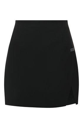 Женская юбка OFF-WHITE черного цвета, арт. 0WCC117S21FAB001 | Фото 1